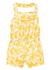 NWT GYMBOREE ROMPER YELLOW AND BLACK COLLECTION SIZE 6-12 MONTHS