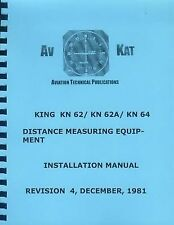 KING KN 62/ KN62A/ KN64 DME INSTALLATION MANUAL