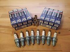 "8x Range Rover 4.6i V8 ""GEMS"" y1994-2002 = Brisk YS Silver Upgrade Spark Plugs"