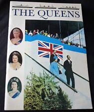 THE QUEENS Queen Mary Queen Elizabeth I & II Booklet 1969