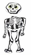 Halloween Spooky Horror Skeleton Inflatable Decoration White 73cm