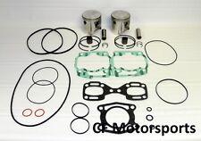 WSM 010-808-14 Seadoo 787 800 RFI +1.0mm Top End Rebuild Piston Kit GTX GSX GTI