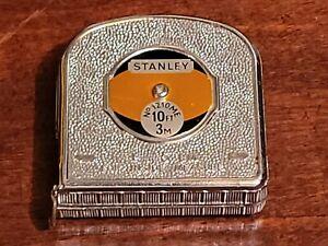 Vintage Stanley Metal Tape Measure 10ft/3 Mtr  No 1210ME