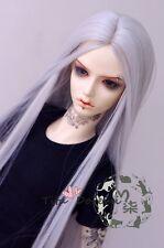 Bjd Doll Wig 1/3 8-9 Dal Pullip AOD DZ AE SD DOD LUTS Dollfie silver gray Toy