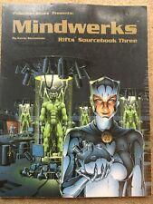 RIFTS Mindwerks *Palladium Books*  Printing #812
