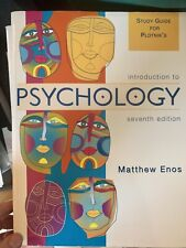 Introduction to Psychology by Eric Bohman and Matthew Enos (2004, Perfect,.