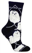 MALTESE Socks~Wheel House~USA~M~Mix n' Match Get 4th Pair FREE Sale! Great Gift!