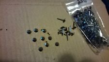 150 Vintage Faceted Cut Steel Pins For Antique Box / Jewellery etc #8  4 mm Dia