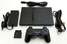 OEM Sony PS2 SLIM Video Game System Gaming Bundle Console Set Playstation-2 Mini