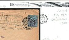 GB Cover London Fine ILLUSTRATED Drill Advert USA Boston 1900 {samwells} G41b