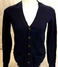 Boys Crewcuts Cardigan Blue cashmere blend Lng Sleeve School Uniform Sz 14 nwt