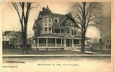 A View of the Residence of Mrs W.M. Clark, Newton NJ