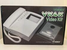 NEW VIDEX 4000 VK4K Video Kit 4K VIDEO DOOR INTERCOM CAMERA MONITOR Set VK4K-S