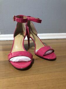 Michael Kors Sienna Mid Pink Patent 7.5 - New