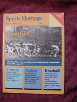 Rare FIRST ISSUE SPORTS HERITAGE magazine January February 1987