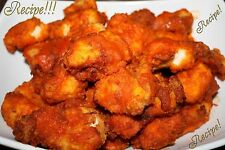 """☆Buffalo Hot Wings """"RECIPE"""" & Copycat Red Hot Sauce☆Superbowl/Movietime/Anytime☆"""