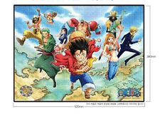 One Piece Anime Licensed  500pcs Jigsaw Puzzle Bromide To the World 52 x 38cm