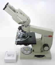 Binokulares Exkursions Labor Mikroskop mit Kreuztisch * Vergrößerung 80x - 945x