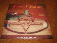 "FUNERAL NATION ""After the Battle"" LP  deathstrike master repulsion"