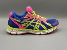ASICS GEL Excite 2 Running Athletic Shoes T483N Pink Green Blue Womens Size 9.5
