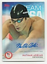 2016 Topps USA Olympic Team Autograph #67 Nathan Adrian Swimming Gold Medalist
