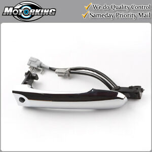 Exterior Door Handle Front Left or Right Chrome for Nissan Cube Juke Versa