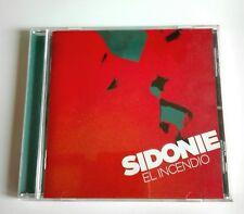 SIDONIE - CD -  EL INCENDIO - ROCK PSICODÉLICO - ALTERNATIVO - 12 CANCIONES