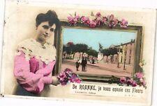CPA De ROANNE-je vous envoie ces Fleurs (263414)