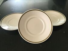 Meakin Poppy Three large saucers