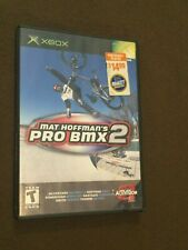 Original Microsoft XBox Video Game Mat Hoffman's Pro BMX 2 Rated T NICE!
