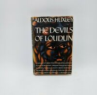 The Devils of Loudun by Aldous Huxley 1st Edition Dust Jacket Vintage Hardcover