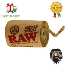 3m RAW HEMP WICK Natural Hemp Bee Wax Wick Lighter Hemp Wick