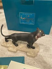 "WDCC bagheera ""Mowgli's protector"" Jungle book Disney Classics collection"