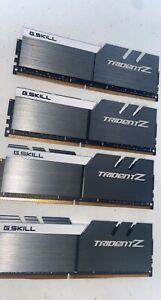 G.SKILL TridentZ RGB Series 64GB RAM (4x 16GB) 3600MHz DDR4 CL17-19-19-39 1.35v