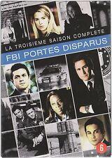 FBI : PORTES DISPARUS  -  Intégrale saison 3 - Coffret 2 boitiers slim - 4 DVD