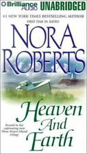 Three Sisters Island Trilogy, Vol.2, Heaven and Earth- by Nora Roberts-Cassette