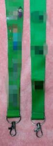 10pcs Green cartoon kids lovely Lanyards For ID Badge Mobile Phone Key Chain