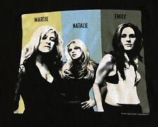 Dixie Chicks Los Angeles October 2007 Rock Pop Concert Black T Shirt Women's XL