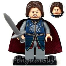 Unbranded King Aragorn Strider Minifigure Lord of the Rings Fits Lego UK Seller