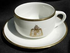 Captain Cook Hotel Anchorage Alaska Cup and Saucer1967-68 Mayer China