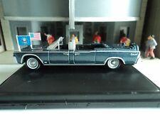 Oxford  1961  Lincoln Continental  X100  Blue Metallic    1/87   HO  diecast car