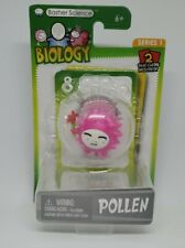 Basher Science Biology Series 1 POLLEN Figure + 2 Game Cards