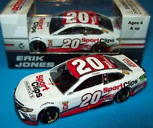 Erik Jones 2018 Sport Clips #20 Joe Gibbs Camry 1/64 NASCAR Diecast New