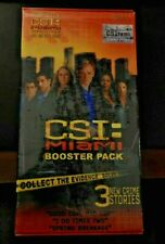 CSI: MIAMI BOOSTER PACK BY SPECIALTY BOARD GAMES, INC