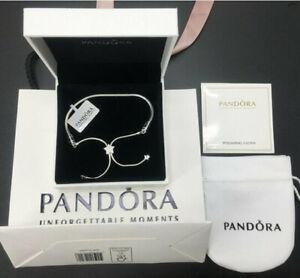 Pandora Charm Bracelets Silver adjustable Snake Chain Bracelet Gift