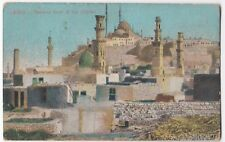 Cairo, General View of the Citadel PPC, Unposted, By Cairo Postcard Trust