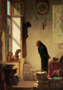The Cactus Lover (1855) Carl Spitzweg wall art poster print