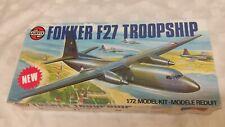 Airfix 1/72 FokkerF27TroopshipTransporter Model Kit #05003 *SEALED IN BAG*