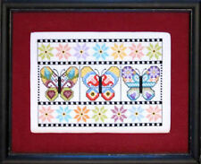 10% Off Bobbie G. Designs Counted X-stitch chart - Butterflies on Display