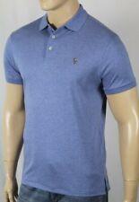 Polo Ralph Lauren Blue Custom Slim Fit Short Sleeve Shirt Multi Color Pony NWT